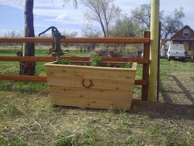 Horse Trough Planter