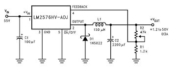 Picture of LM2576/2596, 3-A Step-Down Voltage Regulator