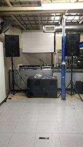 Set Up the Sound System