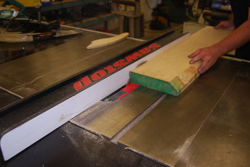 Picture of Cutting the Banding