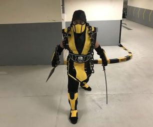 MK 10经典蝎子服装