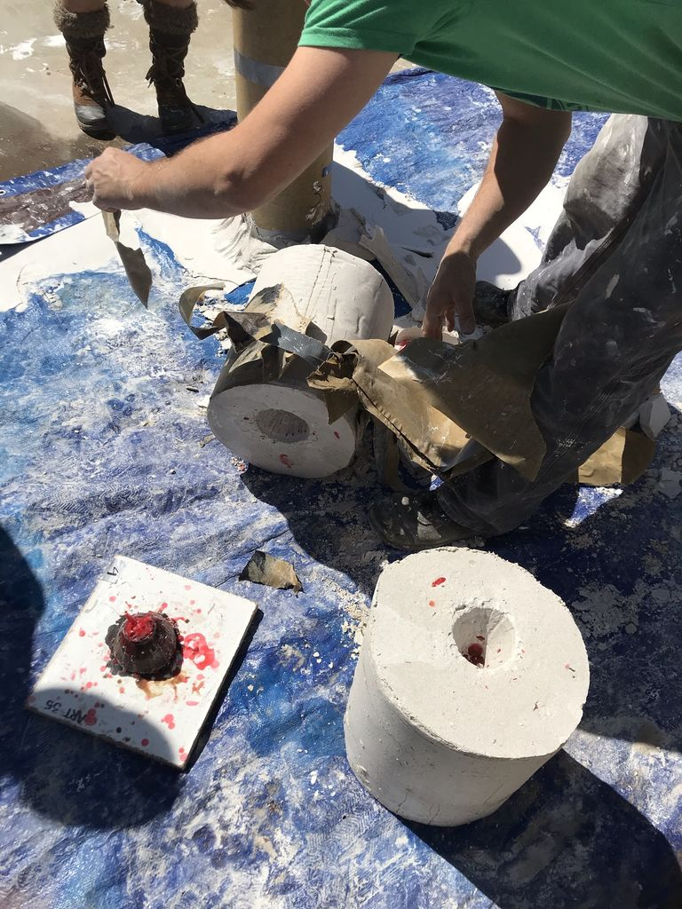 Picture of Mixing and Pouring Your Plaster