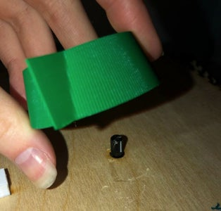 Assembly B: Attach the Potentiometer to the Box Lid
