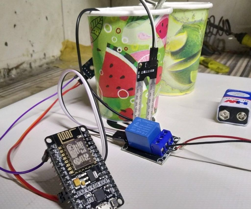 IoT Based Soil Moisture Monitoring and Control System Using NodeMCU