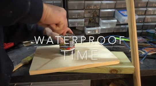 Waterproof and Paint