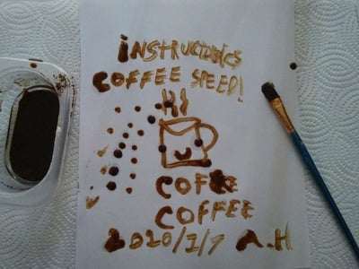 Making Oil Paint With Coffee! 3 Ingredients...