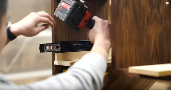 Install Drawers