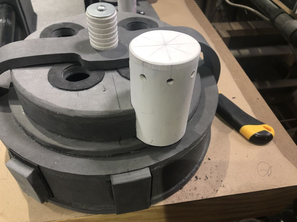 Picture of Hydrogen Gas Actuator and N-Filter Fabrication