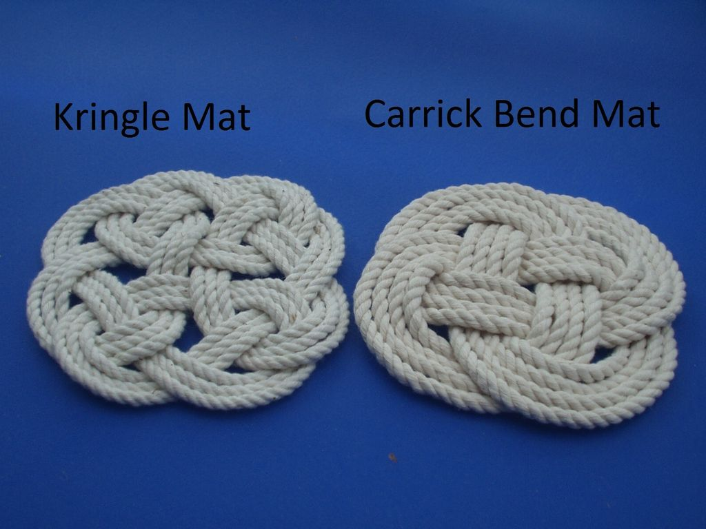 Picture of Kringle Mat and Carrick Bend Mat