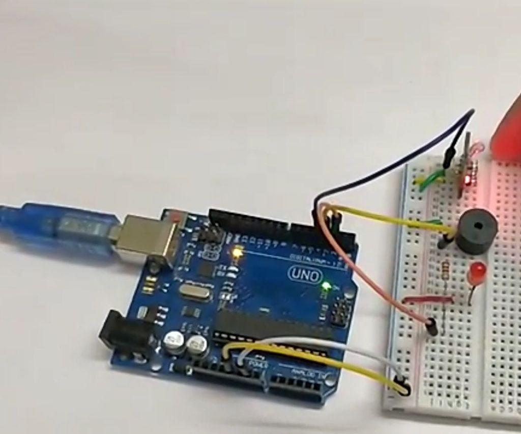 Mercury Switch Tilt Sensor With Arduino