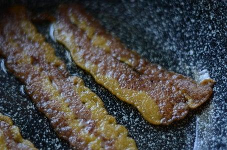 Pan-fried Bean Bacon