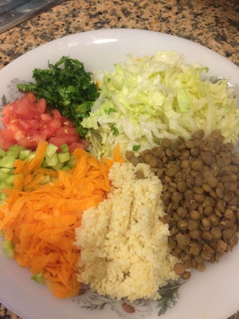 Picture of Lentil and Bulgur Salad
