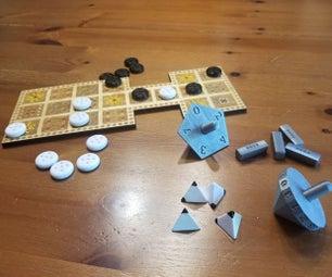 3D印刷骰子乌尔皇室游戏