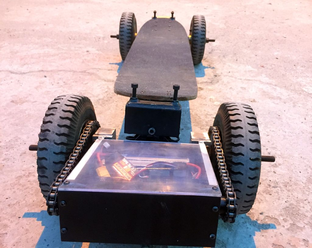 Picture of Electric Mountain Skateboard