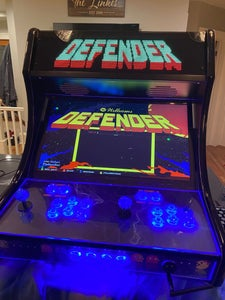 Mount LED Marquee in Arcade Cabinet