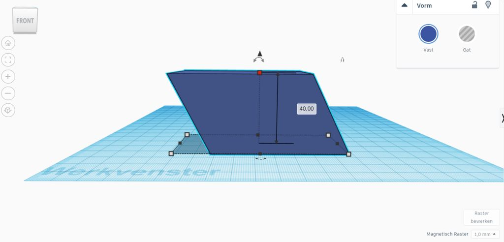 Picture of Solid Geometry (maths) With TinkerCAD - the Volume of a Parallelepiped