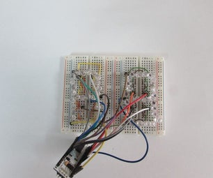 Arduino Fourteen Segment Display - Two Digits.