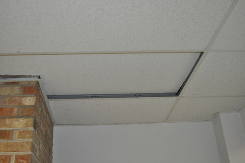 Adjust a Ceiling Tile