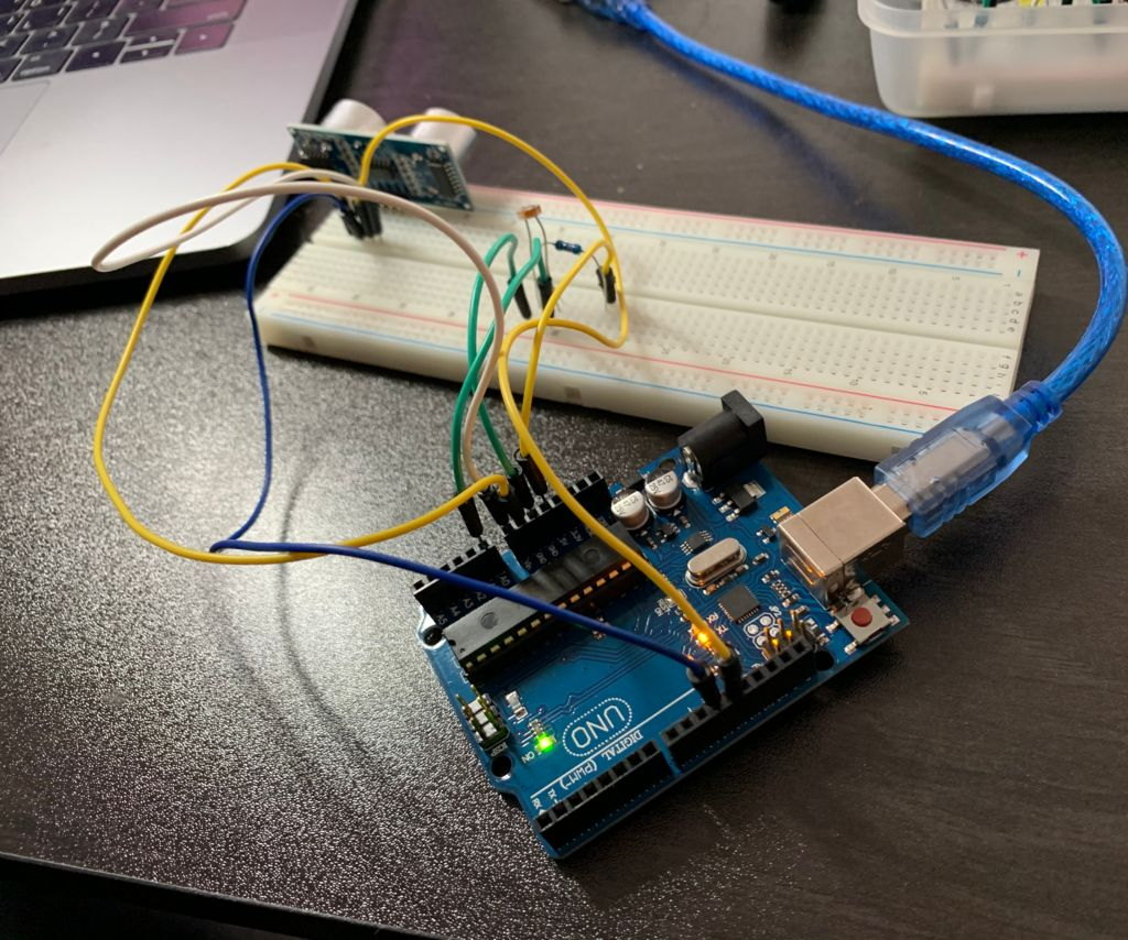 Arduino Processing Graphic Transition