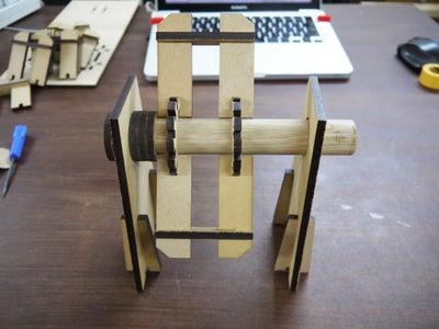 Step 8: Assemble Parts / Wheel (2)