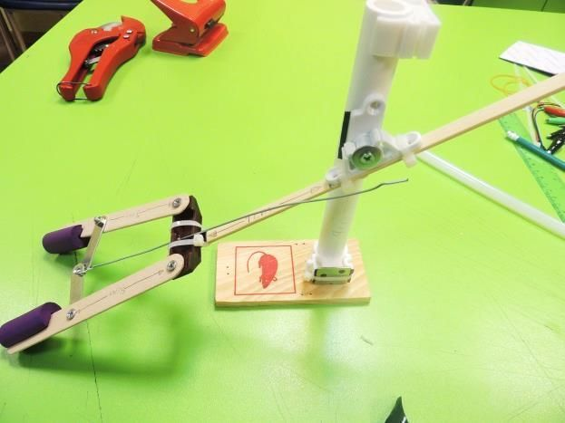 Picture of Attaching the Arm to the Base