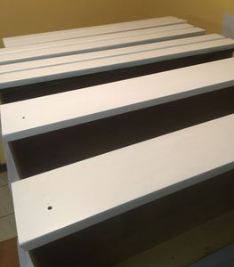Paint the Drawers and Legs