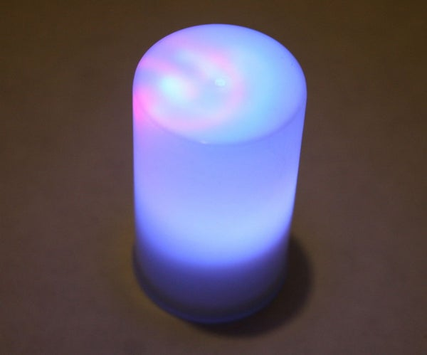 "Easy LED Color Changing ""Candle"""