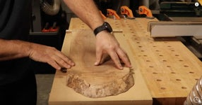 Pick Out a Hardwood, Cut to Size, and Flatten