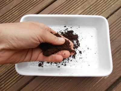 Dry Your Coffee Grounds