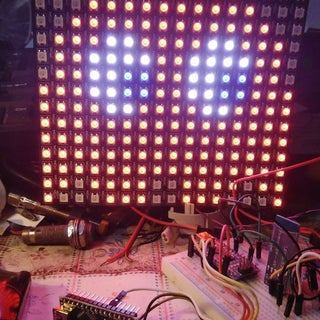 16x16 RGB LED Panel Arduino Projects