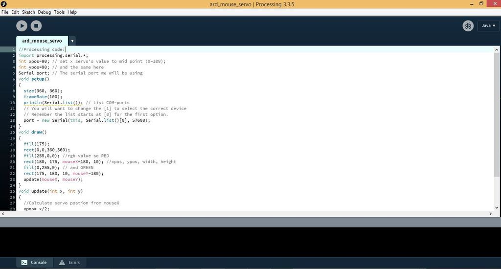 Picture of The Processing Code