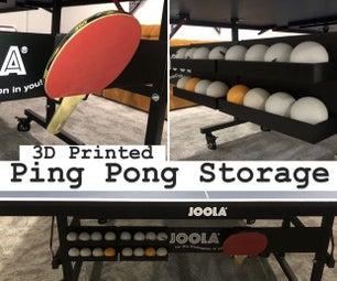 3D印刷乒乓存储