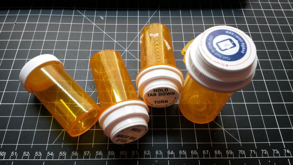 Picture of Collect Medicine Bottles.