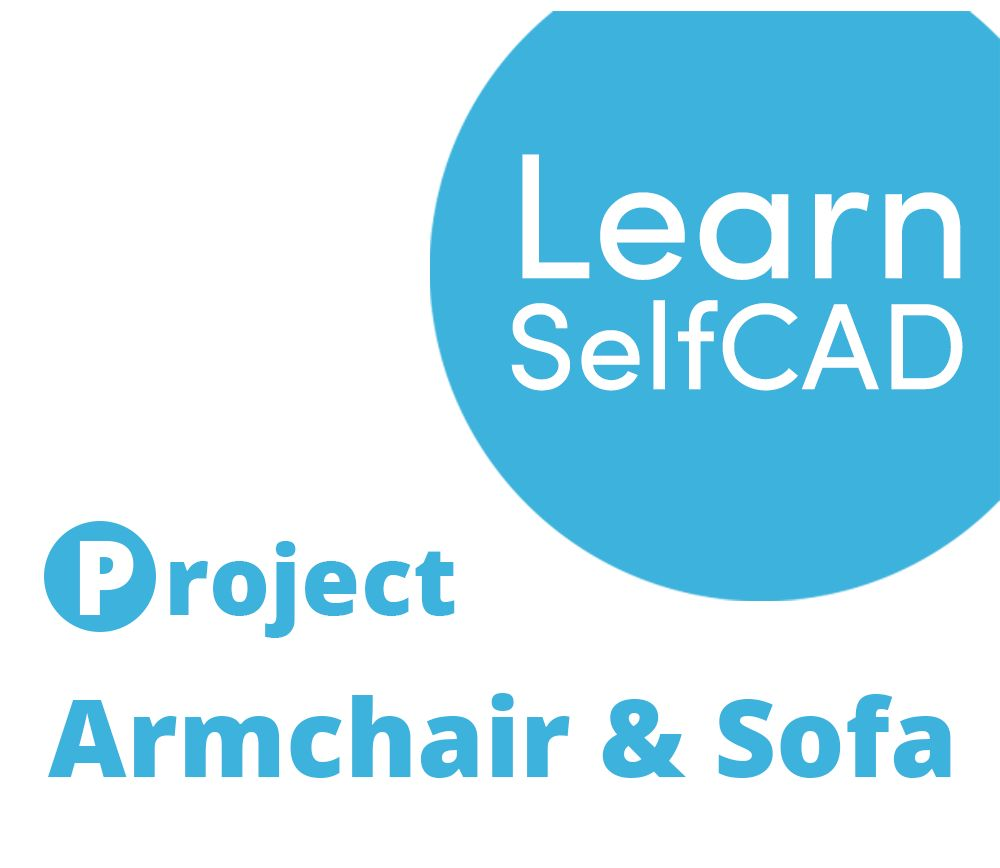 Picture of 2.5. Armchair and Sofa   Learn SelfCAD