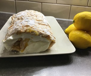 Refreshing Lemon Roulade