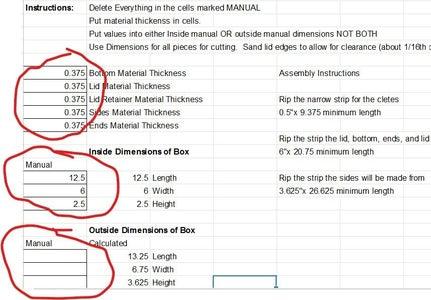 Calculate Your JIQCS Box Cut List