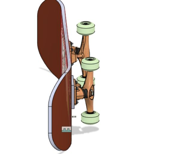 Picture of NBA Hip-hop Rotary Skateboard