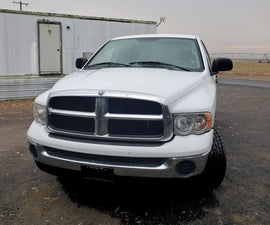 Oil Change for 2005 Dodged Ram 1500 4wd