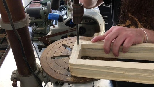 Drilling Holes for Magnets