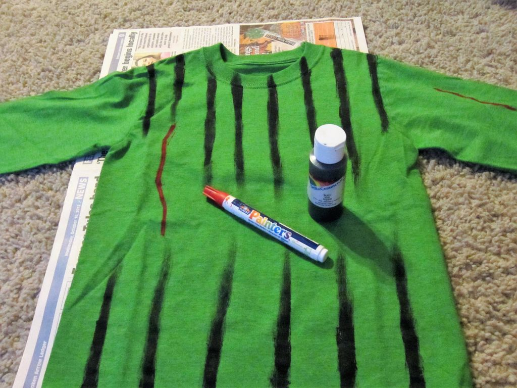 Picture of Paint the Shirt (body) of Fly Guy