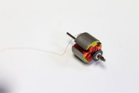 Getting Copper Wire From a Motor