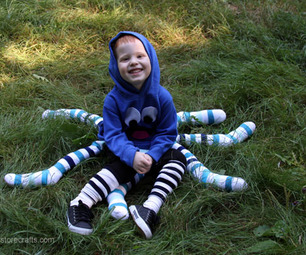 No-Sew Octopus Costume