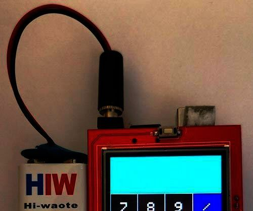 Arduino TFT LCD Touchscreen Calculator