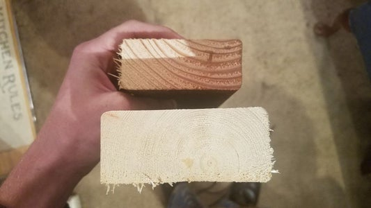 """Making the Wood """"Tiles"""""""