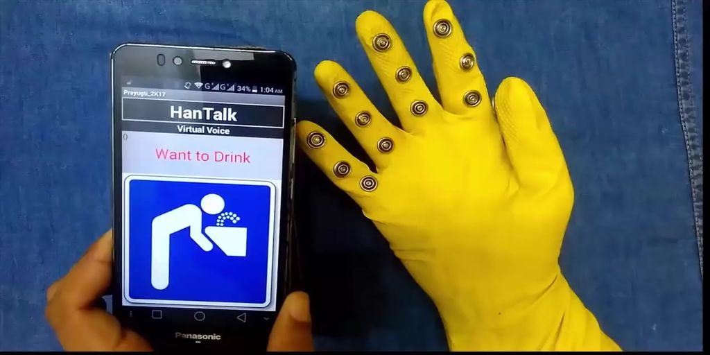 Picture of Smart Glove for Dumb