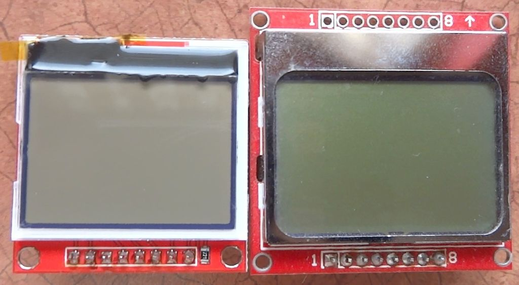 Picture of Comparison to Nokia 5110 LCD