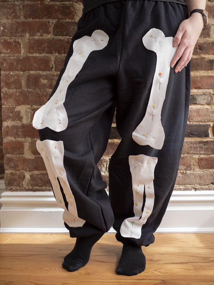 Picture of Repeat With Leg Bones on Pants