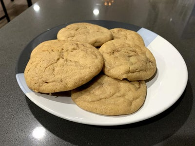 Smoked Caramel Fudge Cookies