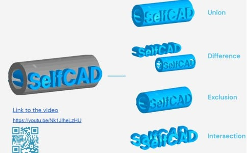 Advanced Tools of SelfCAD-  Stitch and Scoop