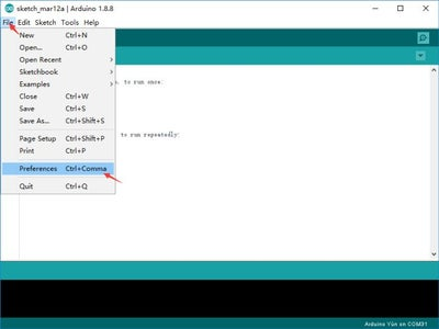 In Arduino IDE: Install ESP32 Boards Manager